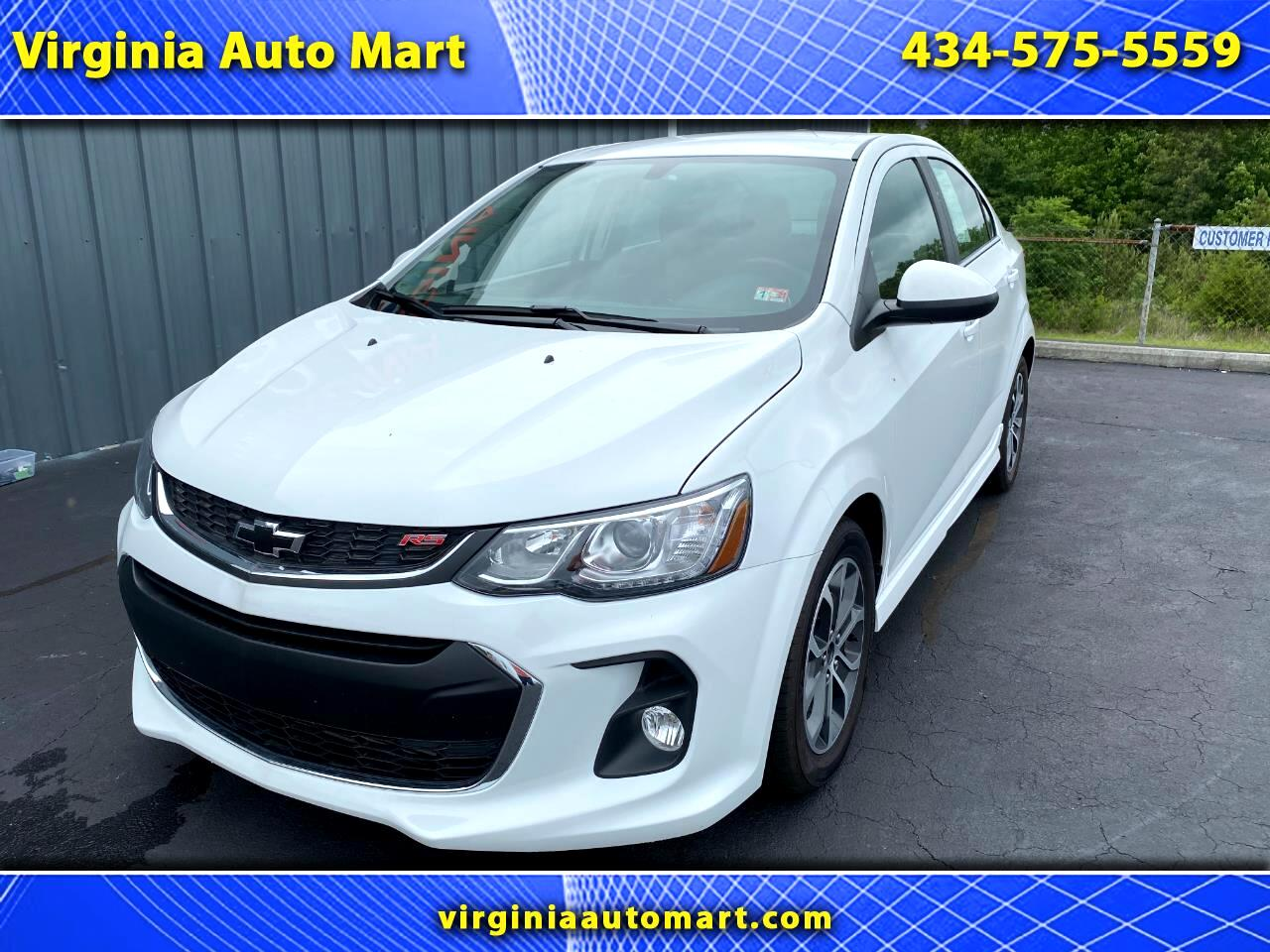 Chevrolet Sonic 4dr Sdn Auto LT 2019
