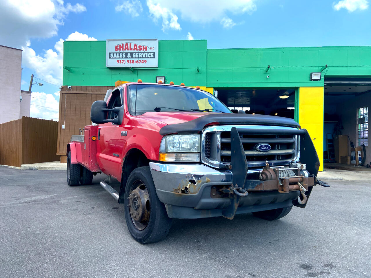 Ford F-550 Regular Cab 4WD DRW 2003