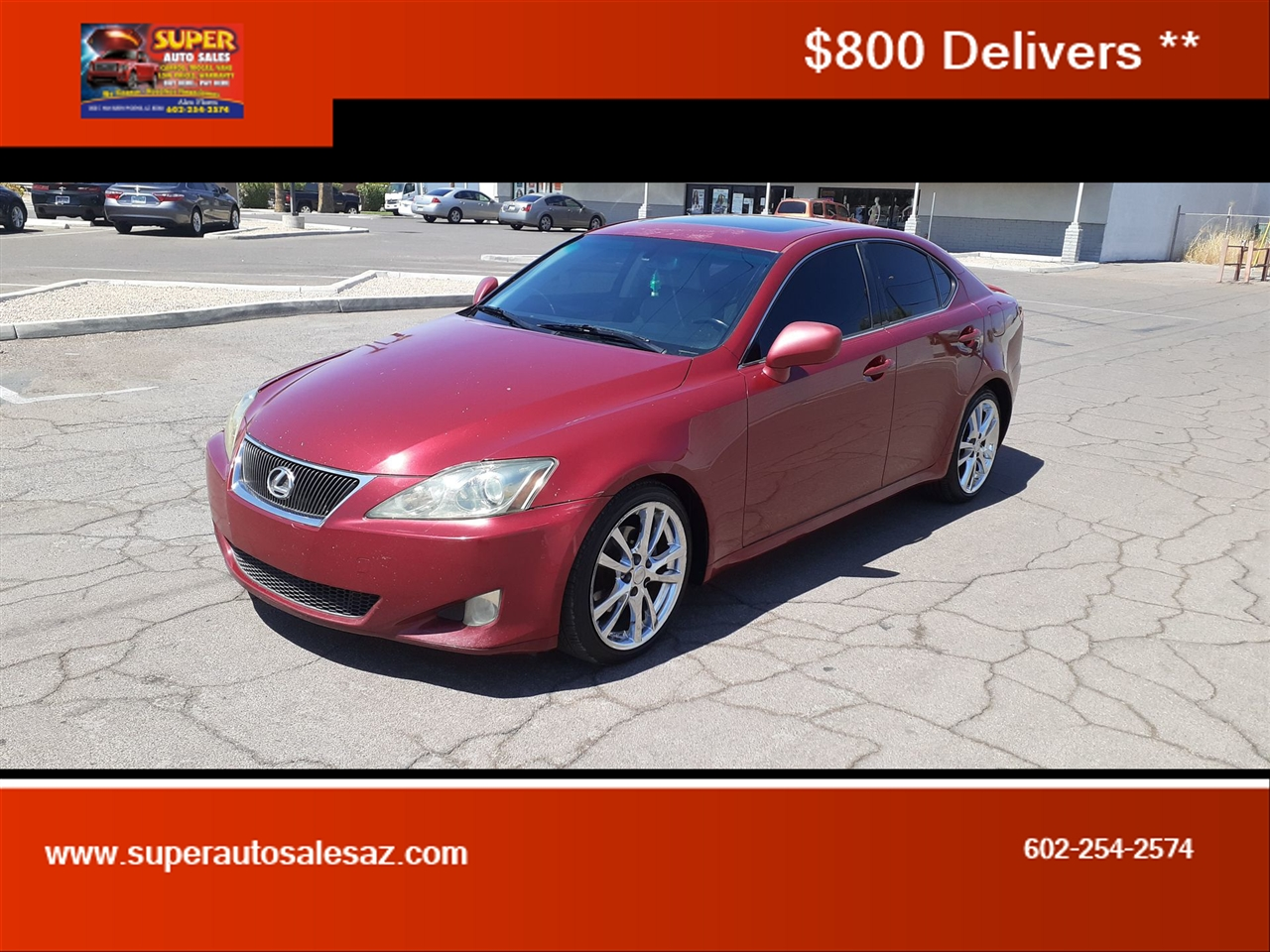 Lexus IS IS 250 6-Speed Manual 2007