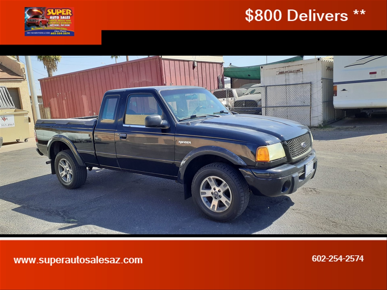 Ford Ranger XL SuperCab 2WD - 361A 2002
