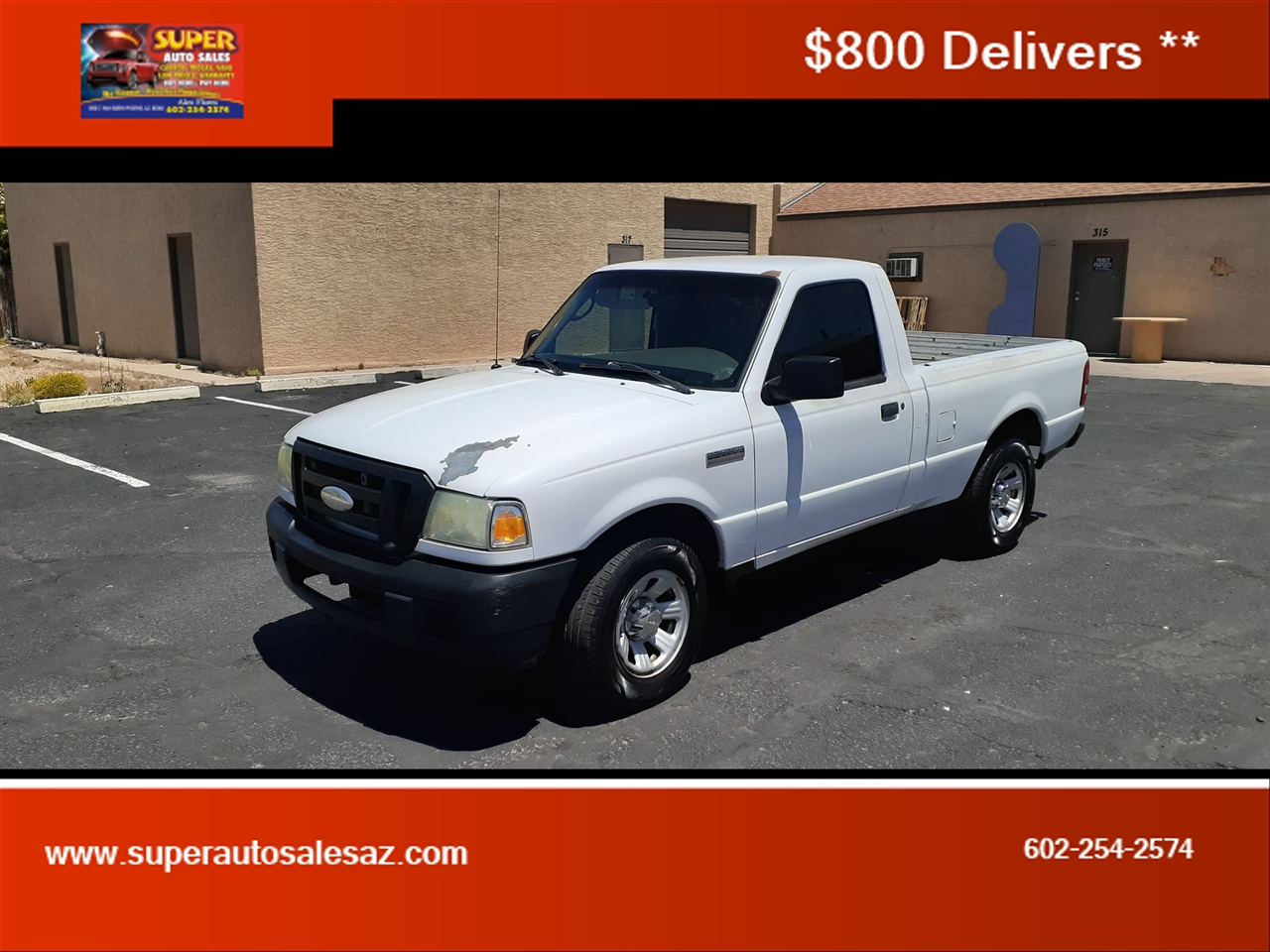 Ford Ranger XL 2WD 2007