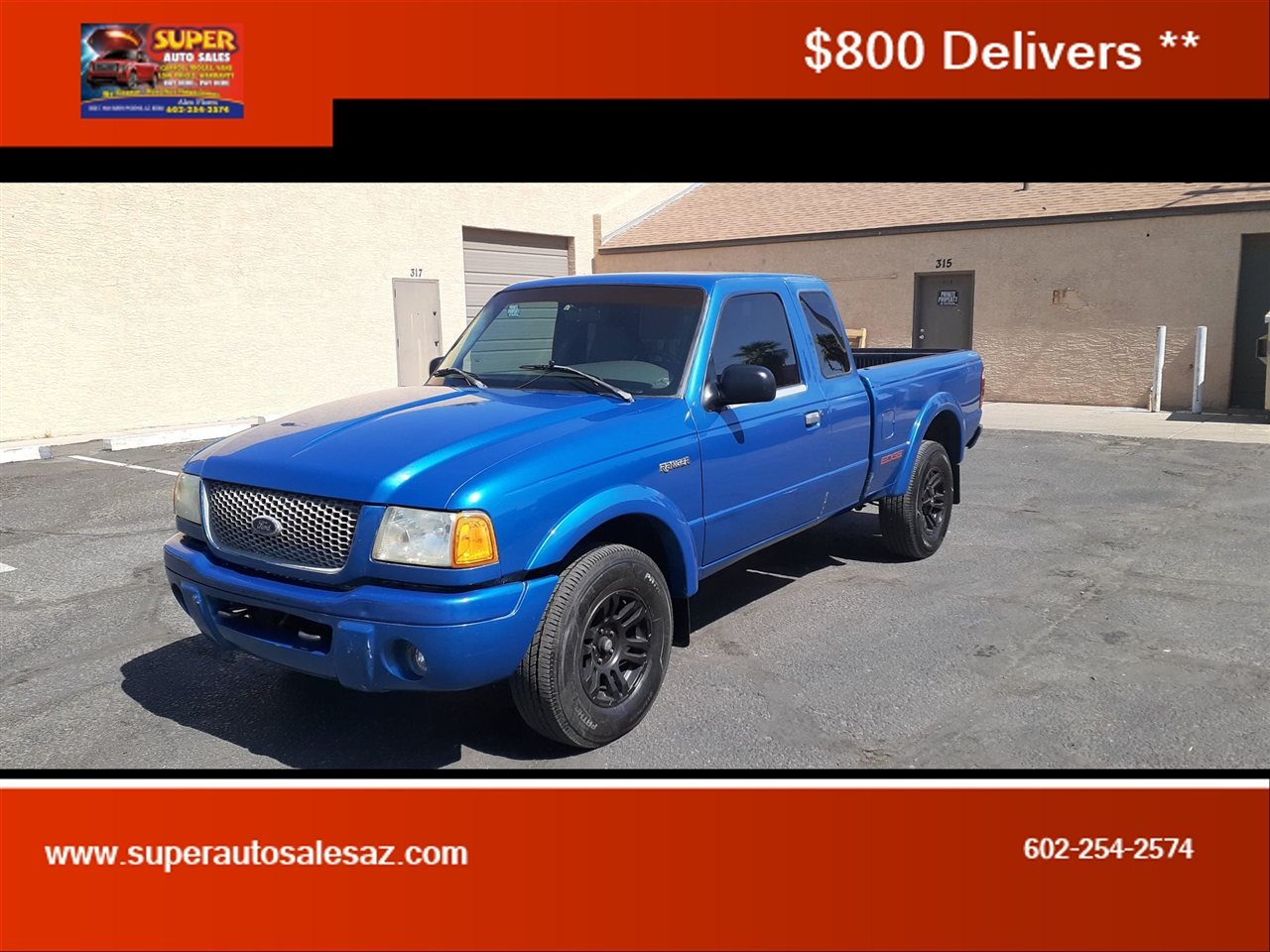 Ford Ranger XL SuperCab 3.0 2WD 2001