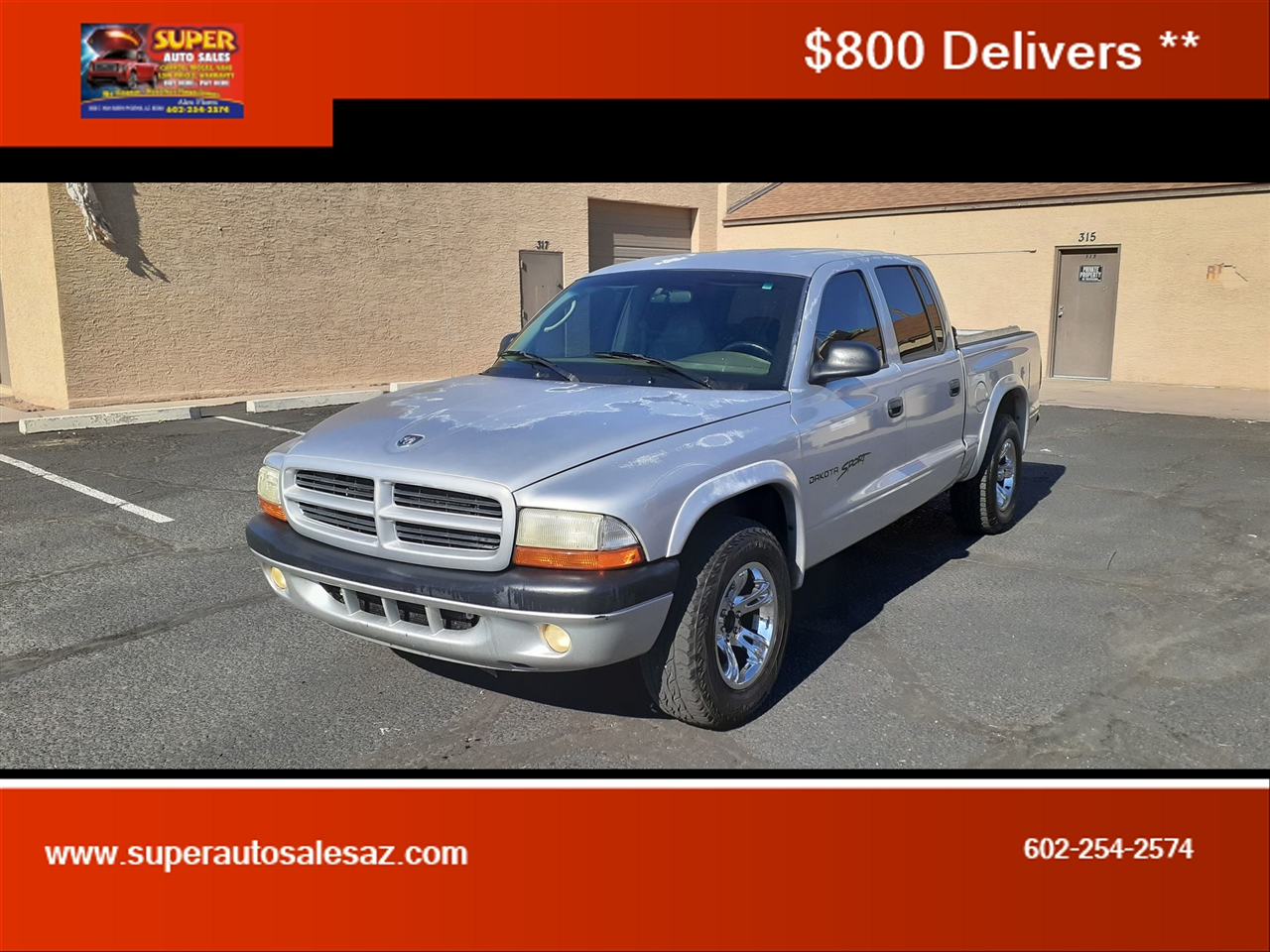 Dodge Dakota Quad Cab 2WD 2001