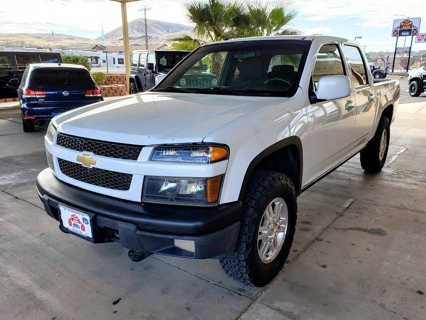 Chevrolet Colorado 1LT Crew Cab 4WD 2012