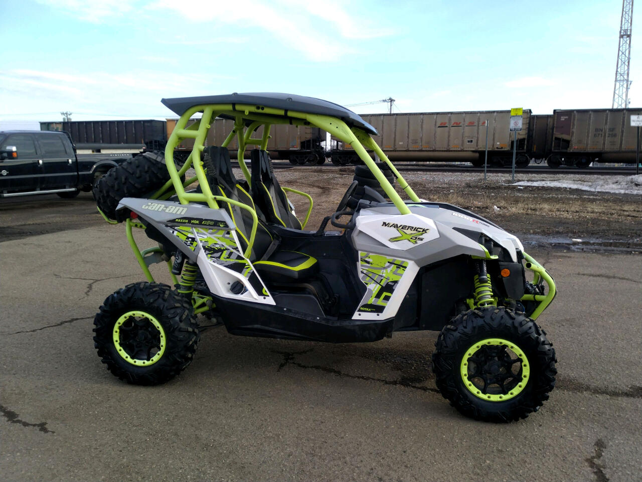 Can-Am Maverick 1000R Turbo X DS  2015