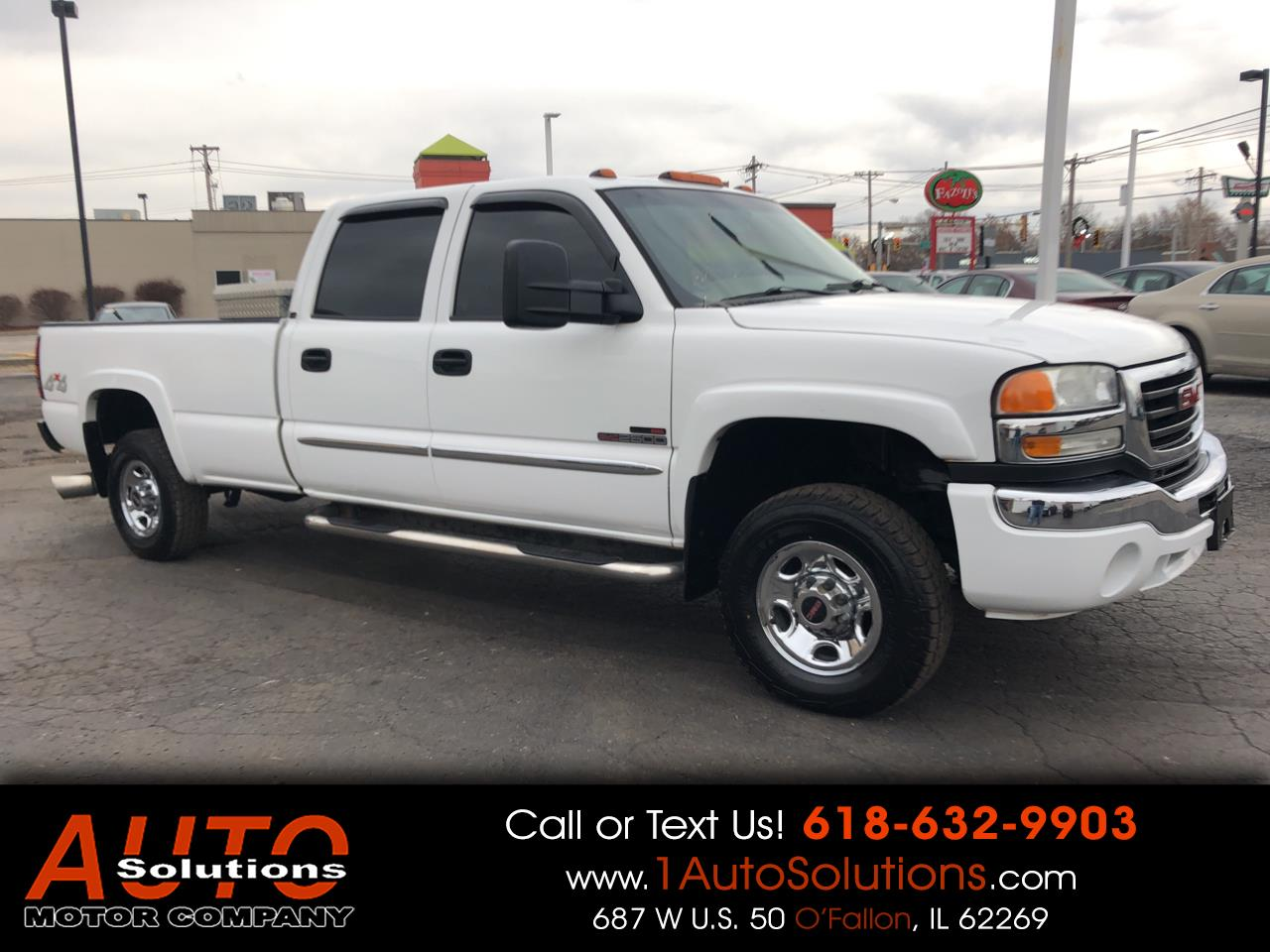 2006 GMC Sierra 2500HD SLE2 Ext. Cab Long Bed 4WD
