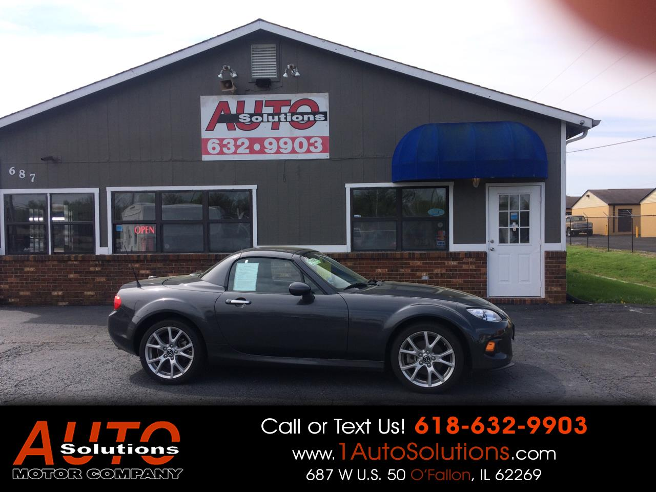 2014 Mazda MX-5 Miata 2dr Conv Hard Top Auto Grand Touring