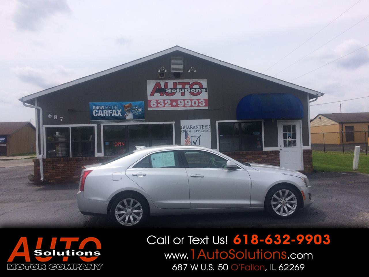 2017 Cadillac ATS Sedan 4dr Sdn 2.0L Luxury Collection AWD