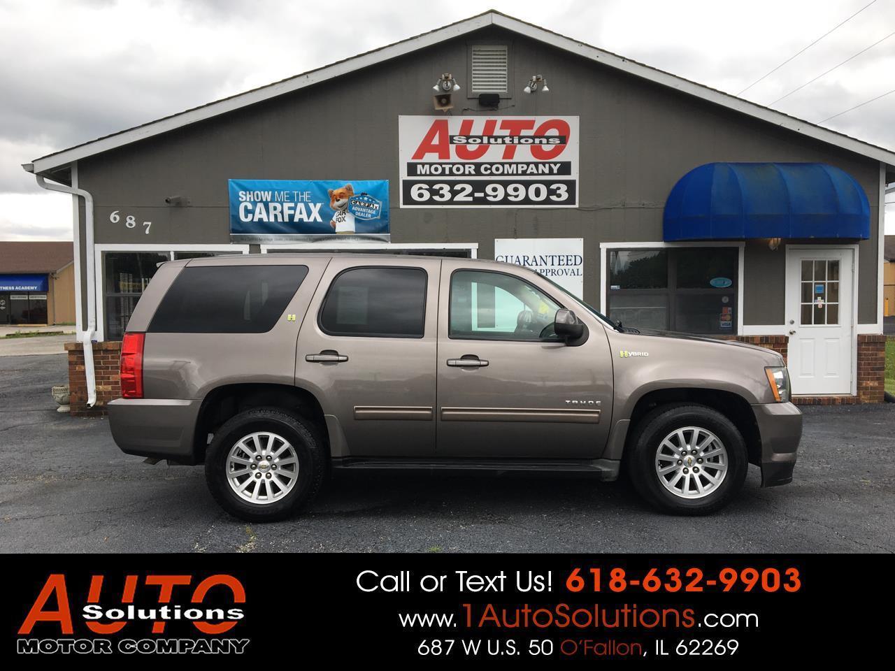 2011 Chevrolet Tahoe Hybrid 4WD 4dr