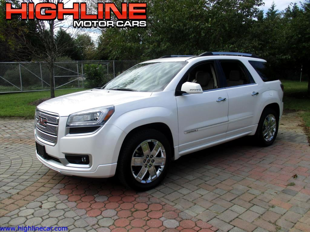 used 2016 gmc acadia denali awd for sale in southampton nj 08088 highline motor cars. Black Bedroom Furniture Sets. Home Design Ideas