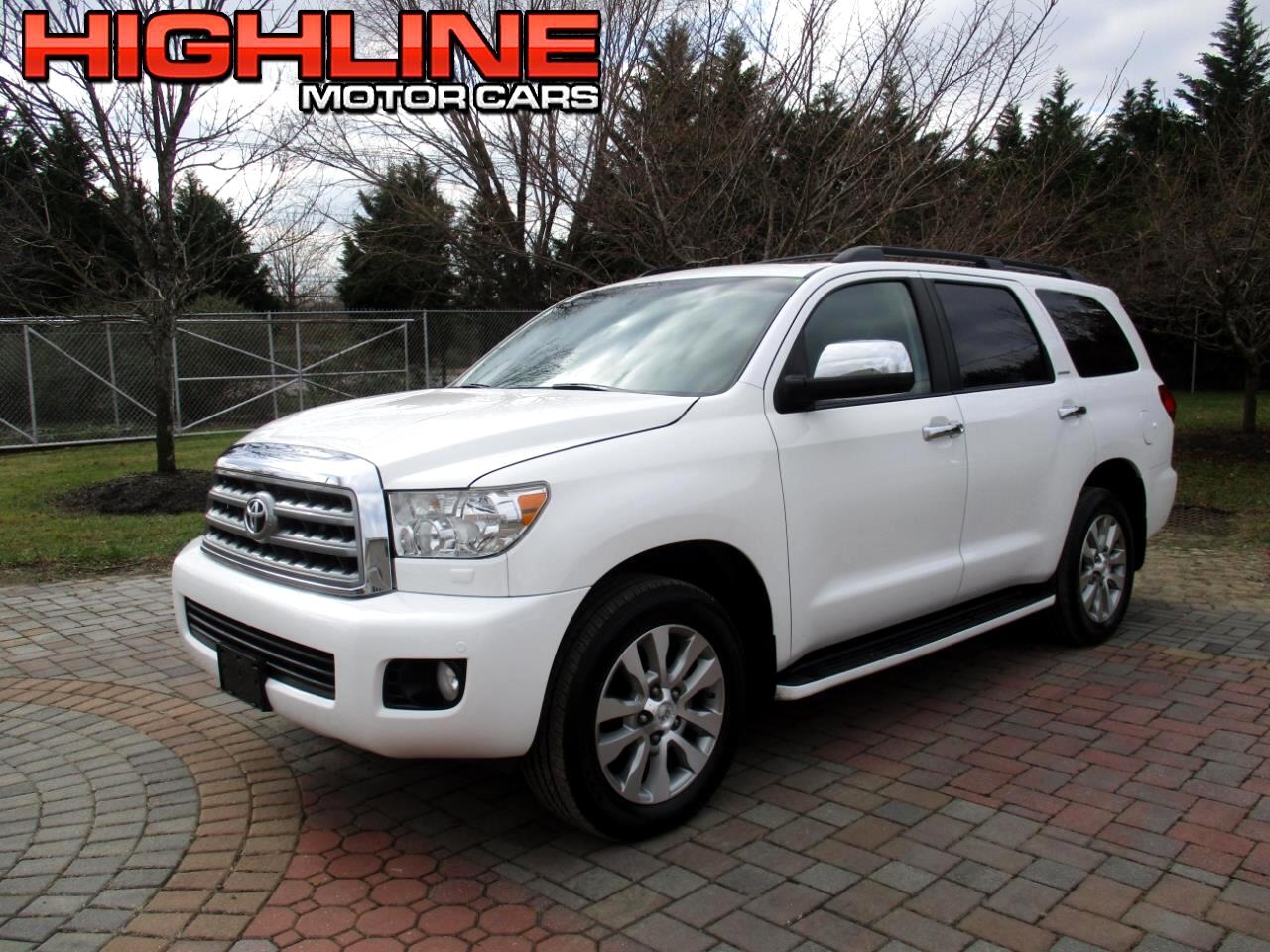 2012 Toyota Sequoia 4WD 5.7L Limited (Natl)