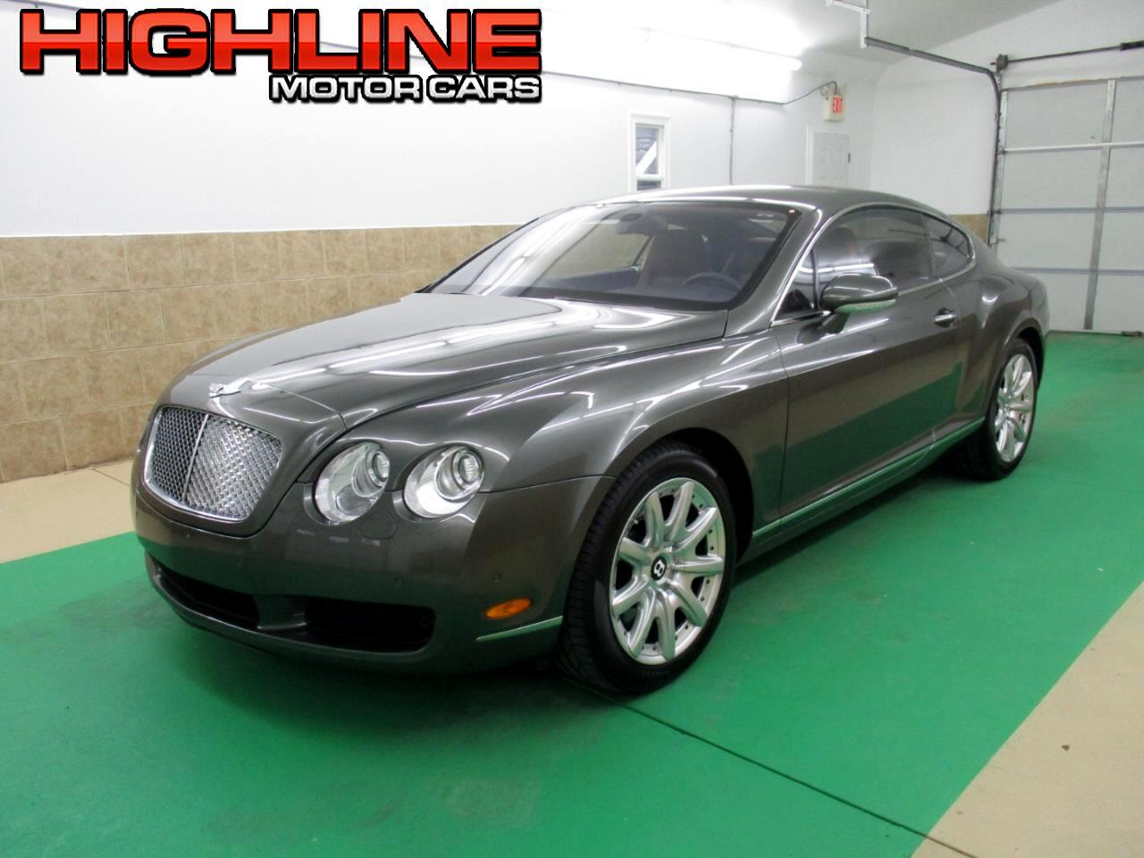2005 Bentley Continental 2dr Cpe GT