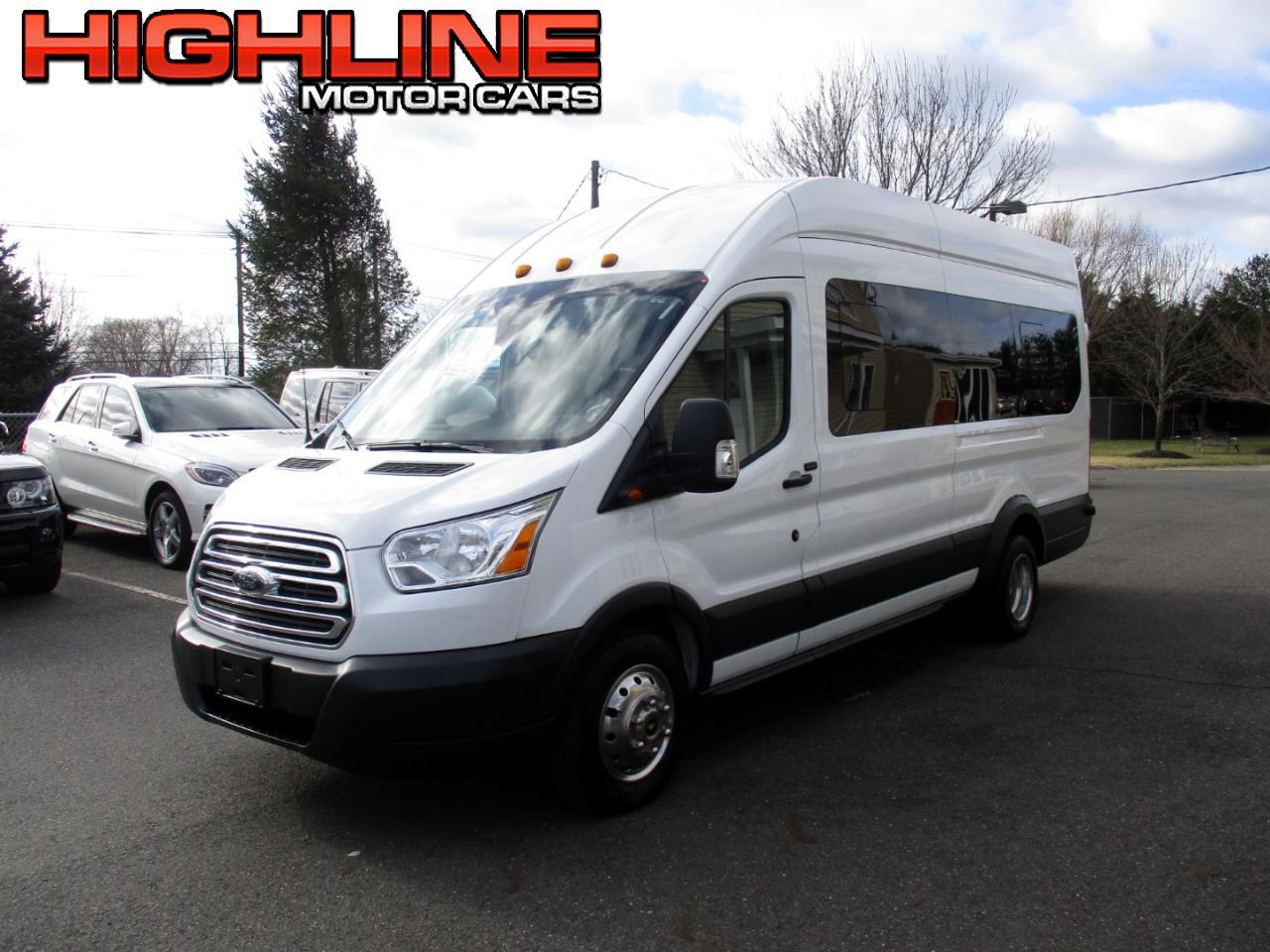 "2015 Ford Transit Wagon T-350 148"" EL High Roof XLT Sliding RH Dr DRW"