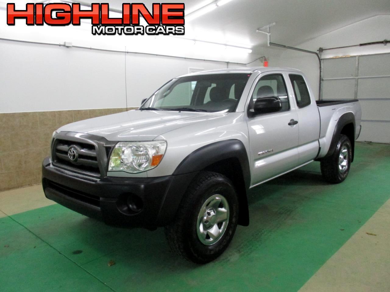 2009 Toyota Tacoma 4WD Access I4 MT (Natl)