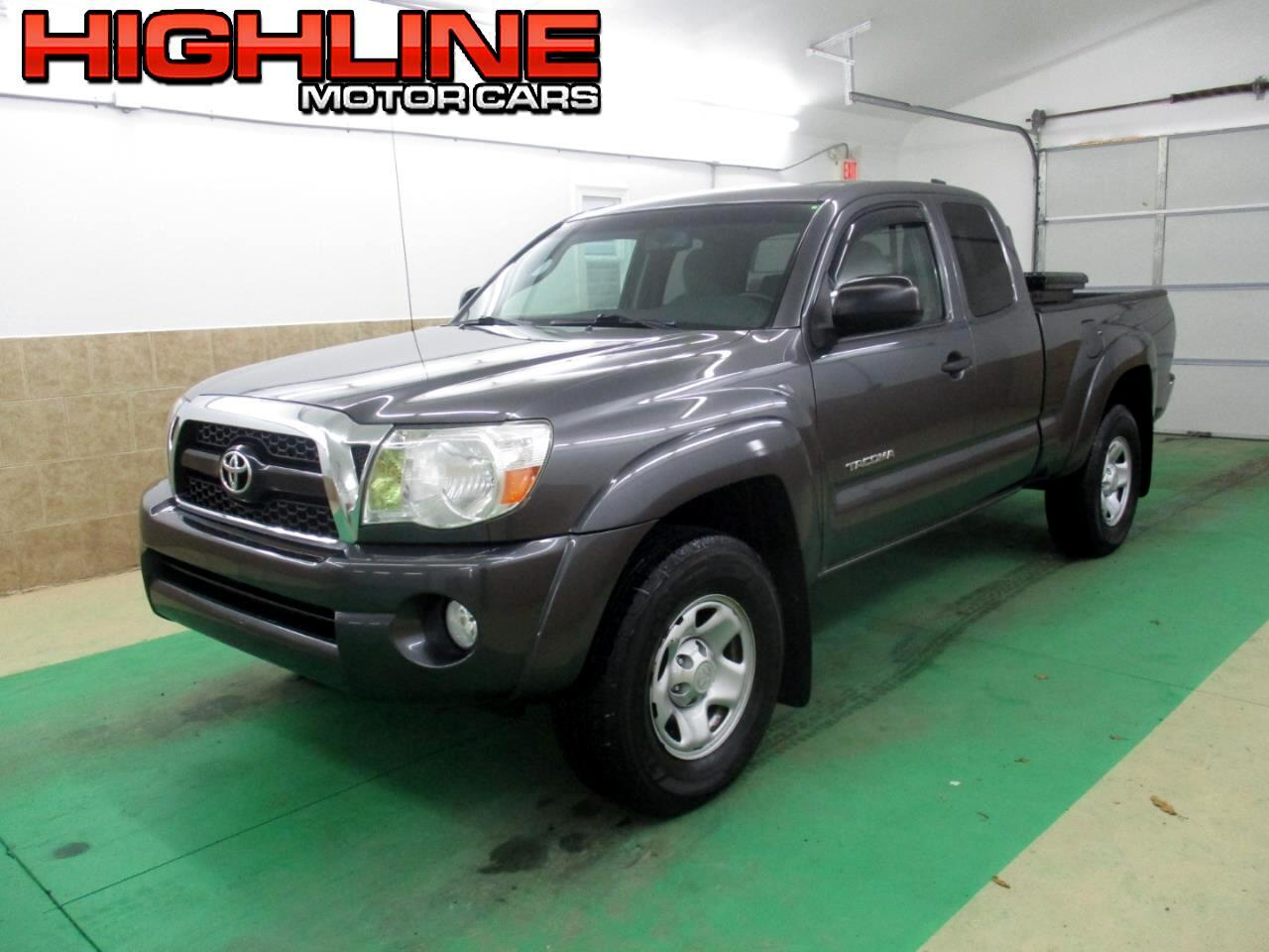 2011 Toyota Tacoma 4WD Access V6 MT (Natl)