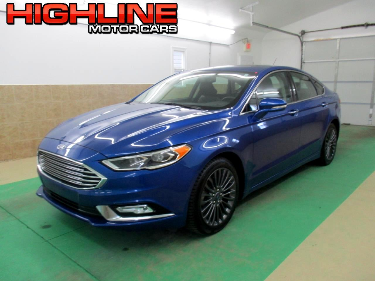 2017 Ford Fusion Hybrid Titanium FWD