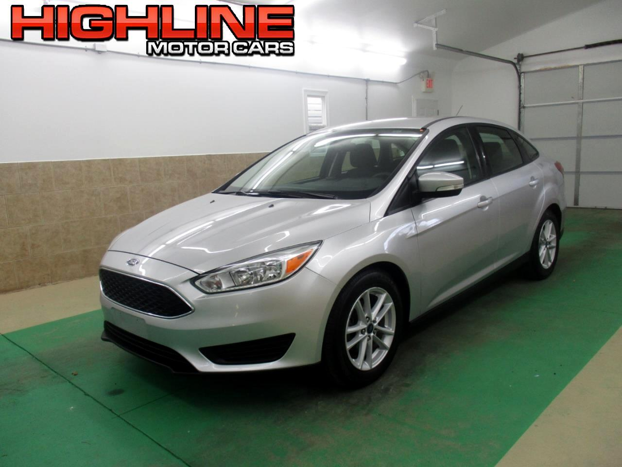 2017 Ford Focus SE Sedan