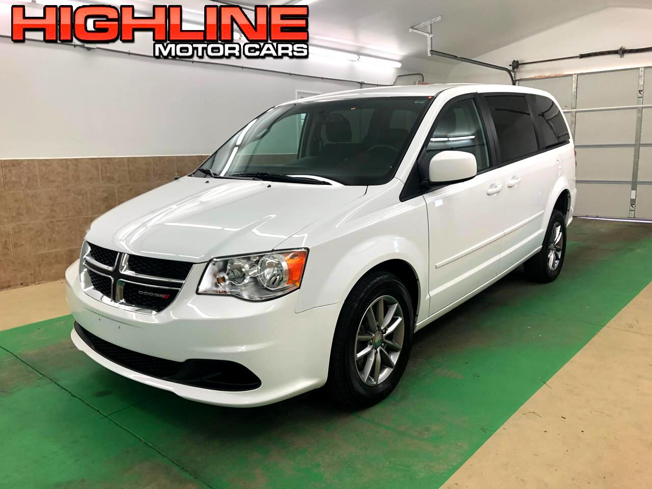 2016 Dodge Grand Caravan 4dr Wgn SE Plus