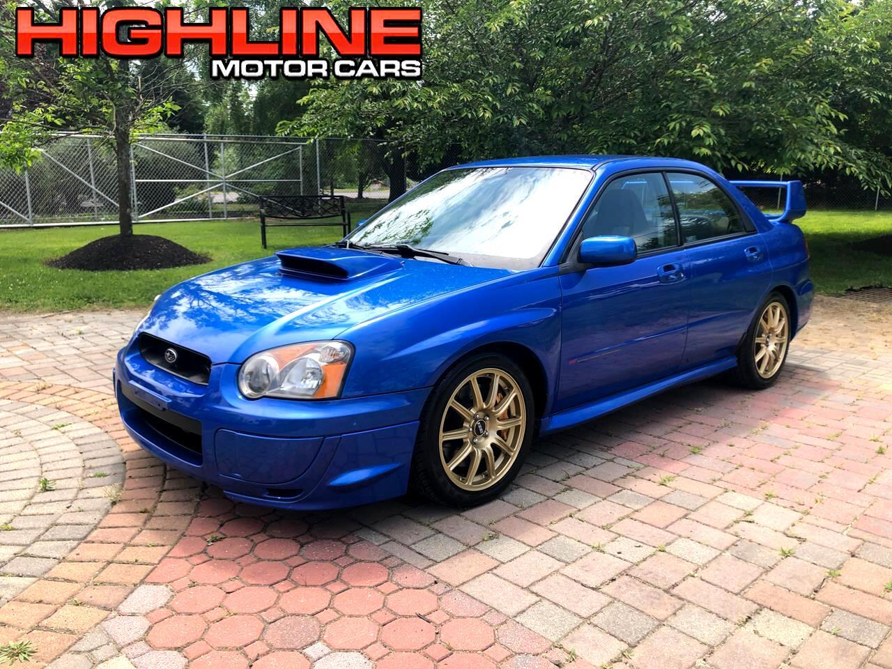 2004 Subaru Impreza Sedan (Natl) 2.5 WRX STi w/Gold Wheels