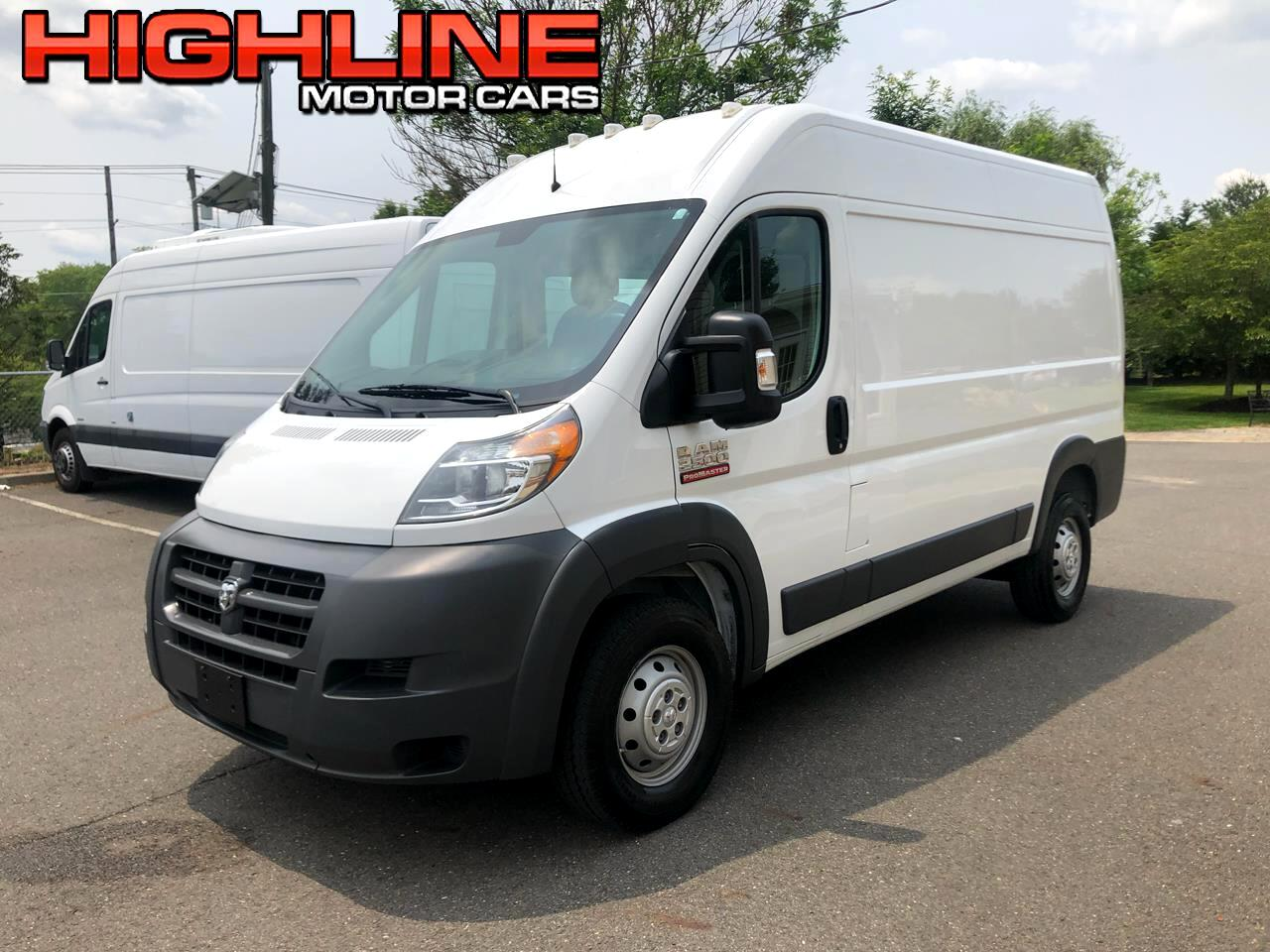 2014 RAM ProMaster Cargo Van 2500 High Roof 136