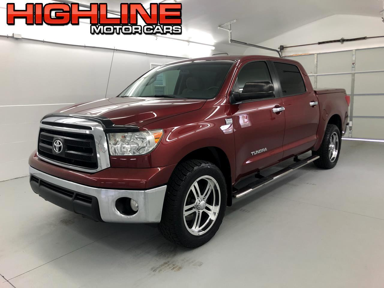 2010 Toyota Tundra 2WD Truck CrewMax 4.6L V8 6-Spd AT  (Natl)