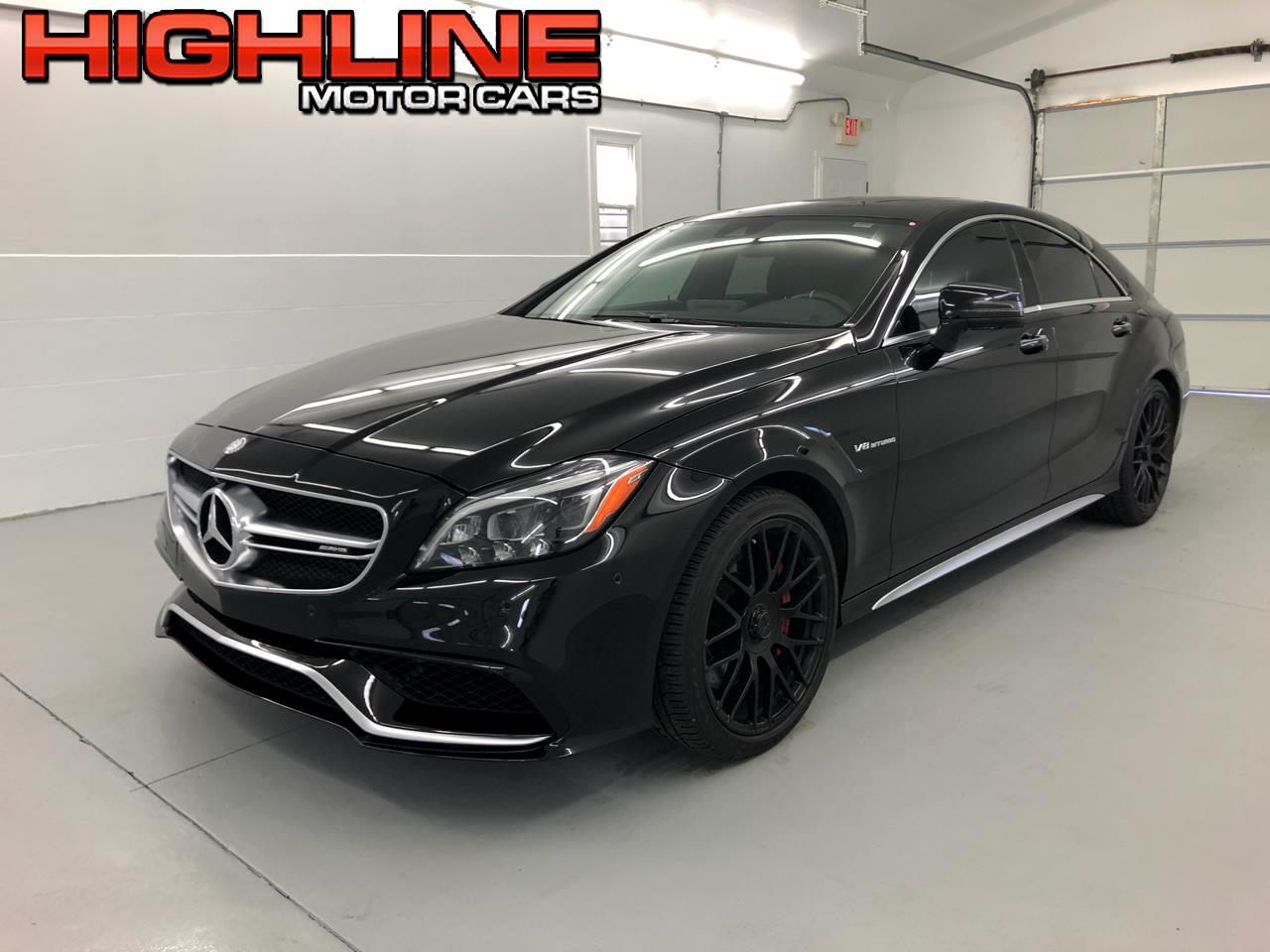 2016 Mercedes-Benz CLS 4dr Sdn AMG CLS 63 S-Model 4MATIC