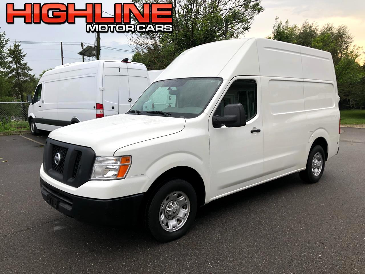 2017 Nissan NV Cargo NV2500 HD High Roof V6 SV