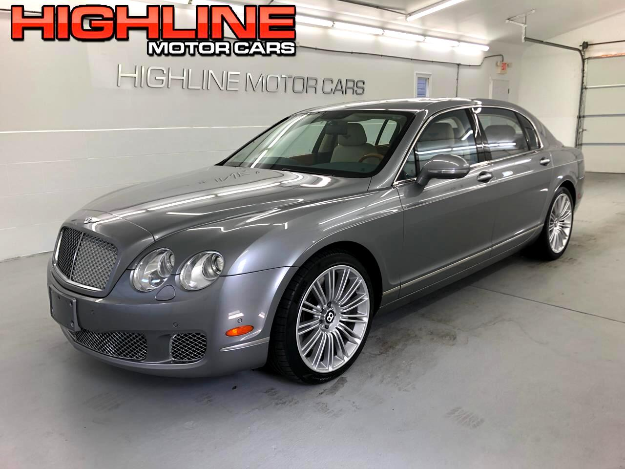 2012 Bentley Continental Flying Spur 4dr Sdn Speed