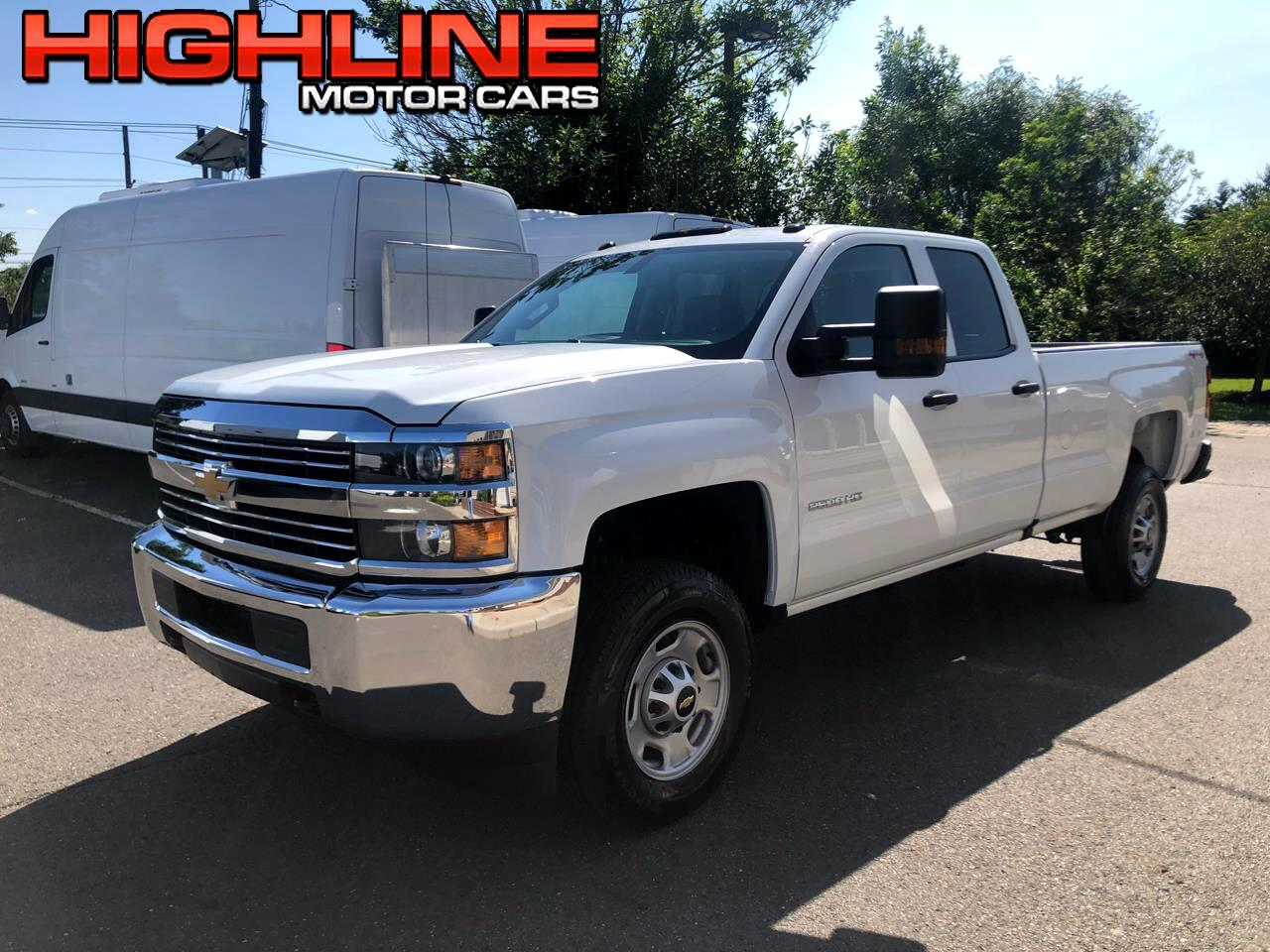 2019 Chevrolet Silverado 2500HD 4WD Double Cab 158.1