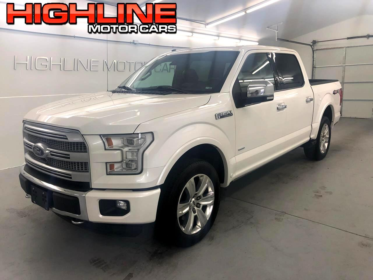 2016 Ford F-150 Platinum SuperCrew 6.5-ft. Bed 2WD