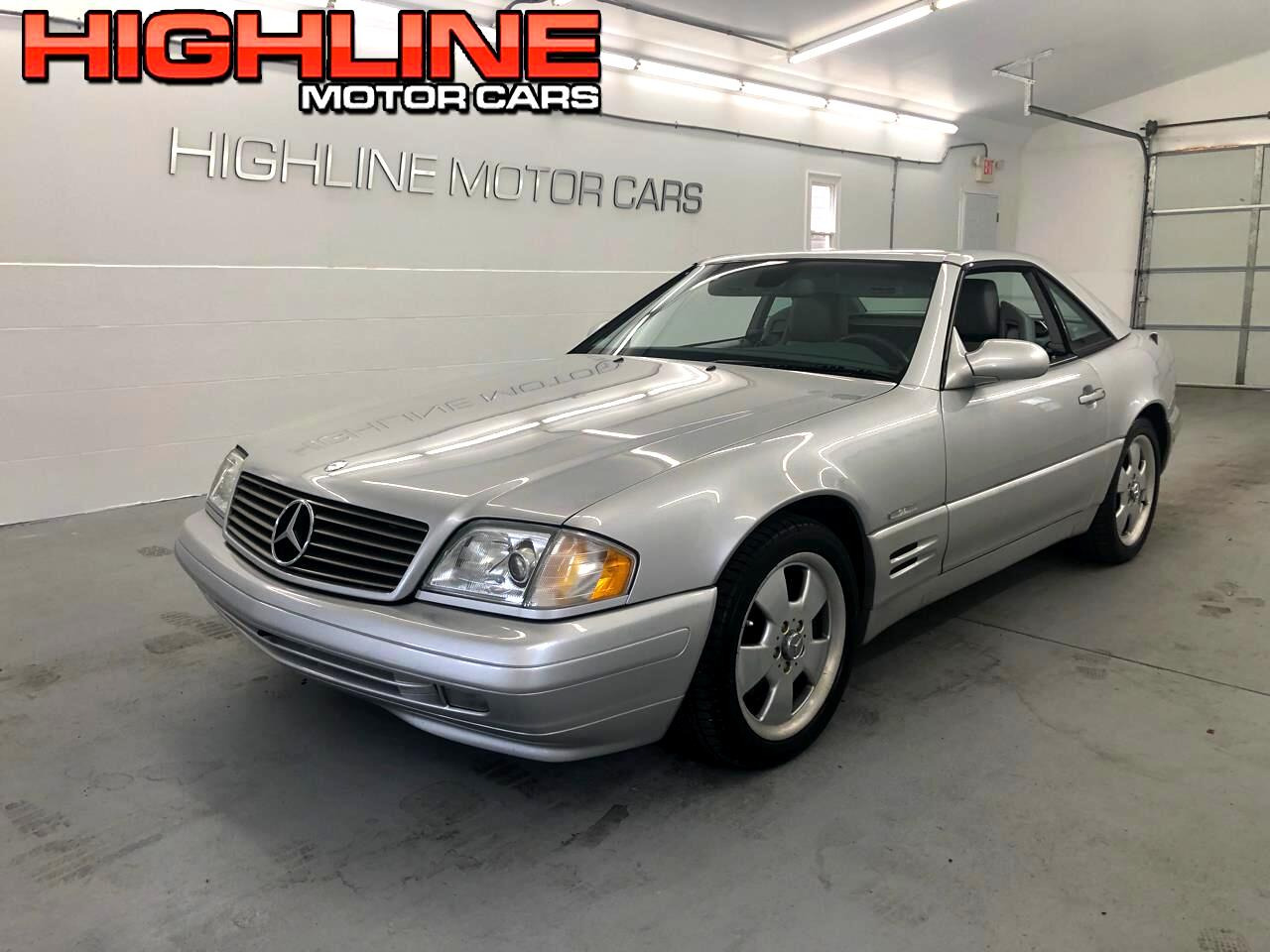 2000 Mercedes-Benz SL-Class 2dr Roadster 5.0L Silver Arrow