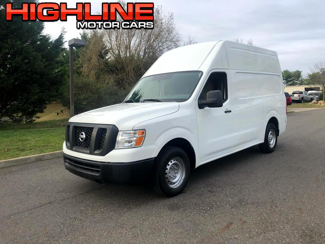2018 Nissan NV Cargo NV2500 HD High Roof V6 SV