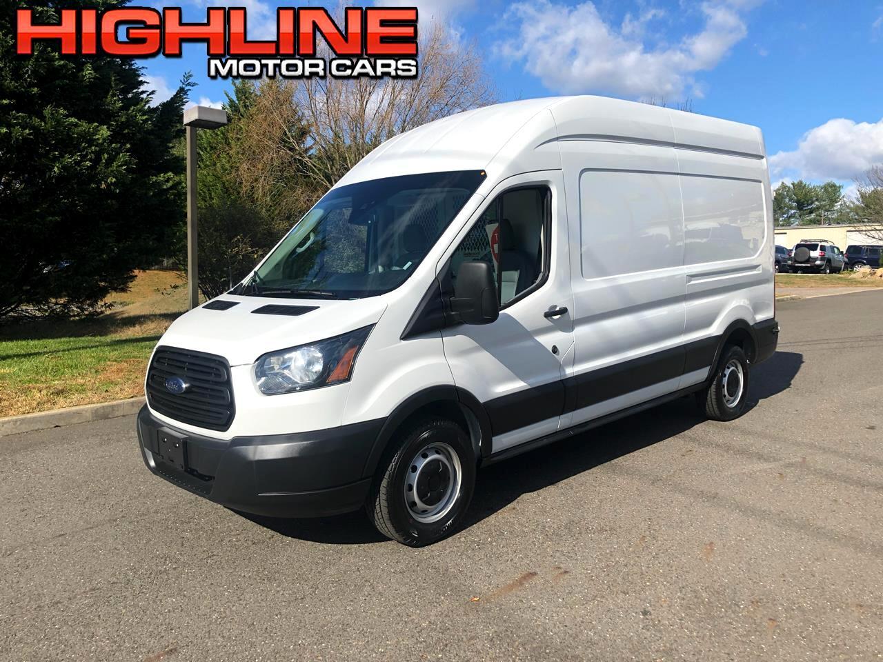 "2019 Ford Transit Van T-250 148"" Hi Rf 9000 GVWR Sliding RH Dr"