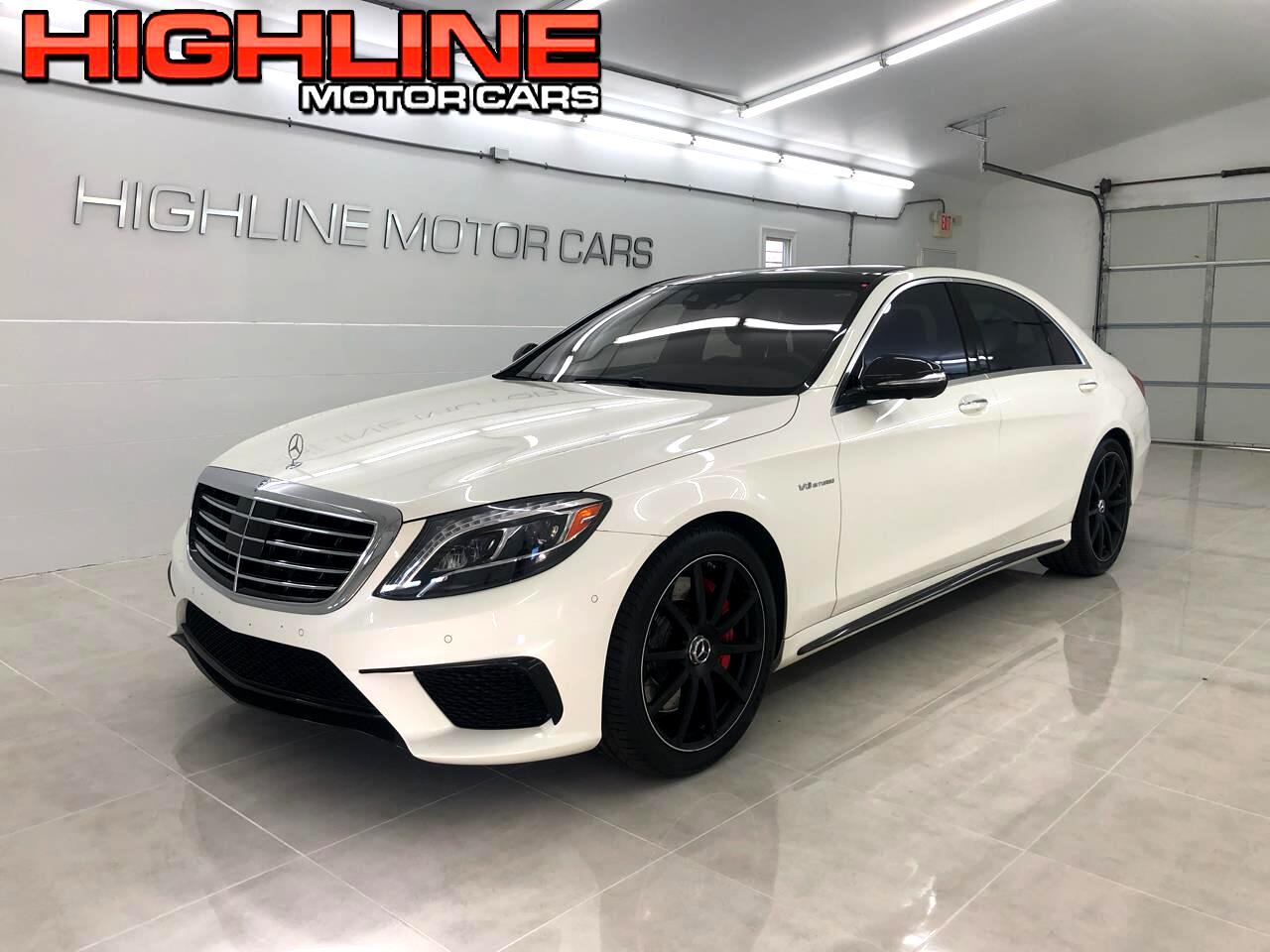2015 Mercedes-Benz S-Class 4dr Sdn AMG S 63 4MATIC