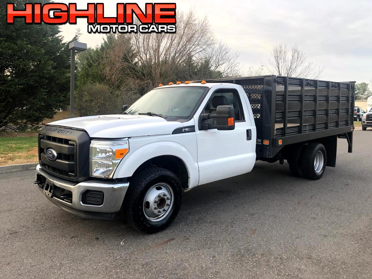 2014 Ford Super Duty F-350 DRW 2WD Reg Cab 141