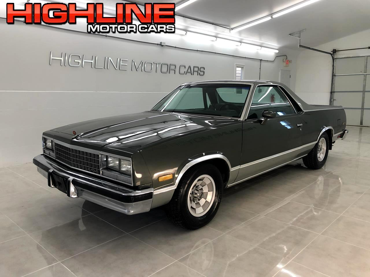 1984 Chevrolet El Camino 2dr Pickup