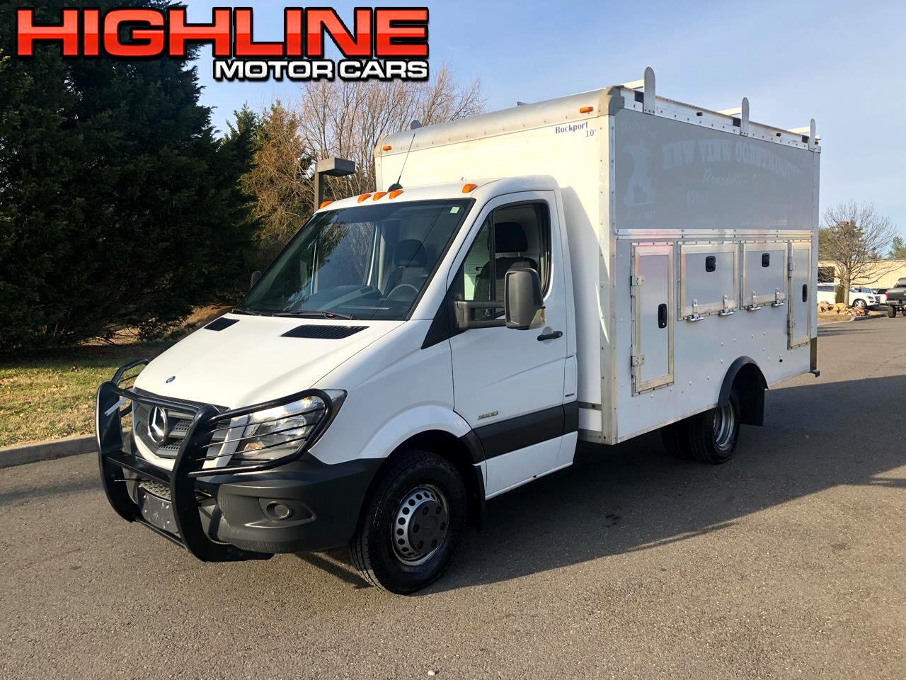 """Mercedes-Benz Sprinter Chassis-Cabs 2WD Reg Cab 144"""" WB 2014"""
