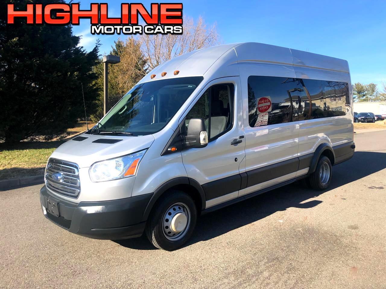 "Ford Transit Wagon T-350 148"" EL High Roof XLT Sliding RH Dr DRW 2016"