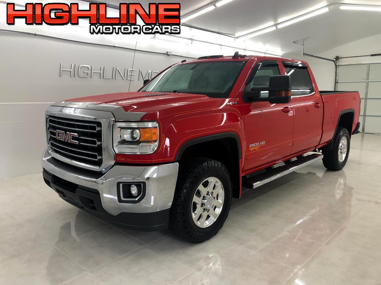 "GMC Sierra 2500HD available WiFi 4WD Crew Cab 153.7"" SLE 2015"