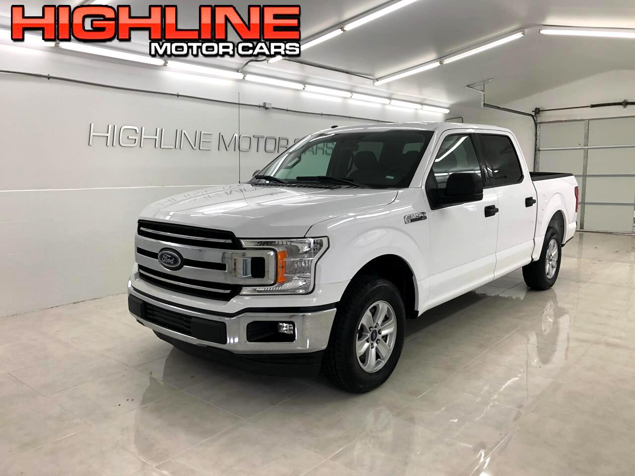 Ford F-150 XLT 2WD SuperCrew 5.5' Box 2018