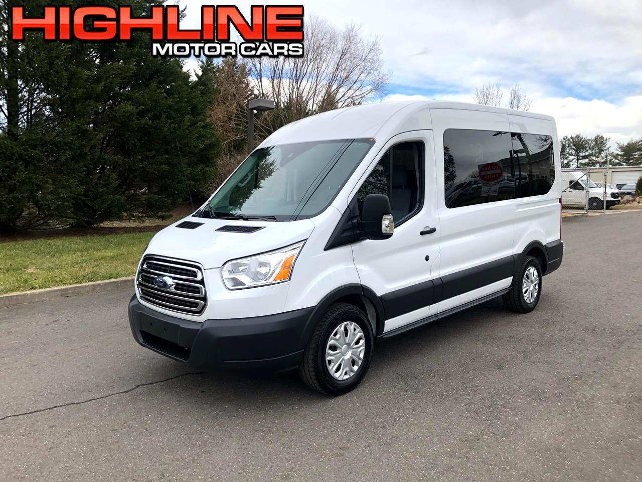 """Ford Transit Passenger Wagon T-150 130"""" Med Roof XLT Sliding RH Dr 2018"""
