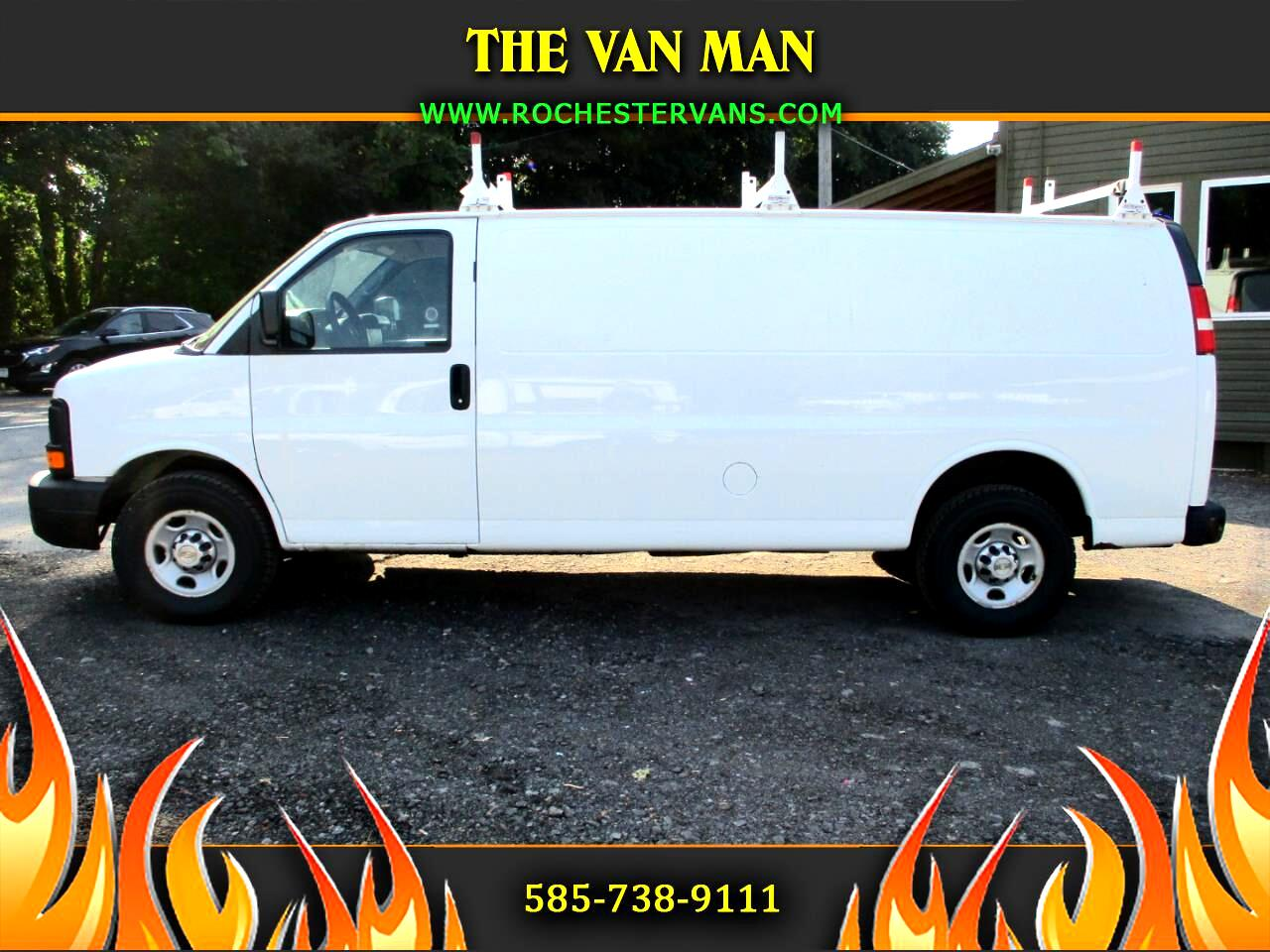 Chevrolet Express 3500 Cargo Extended 2014