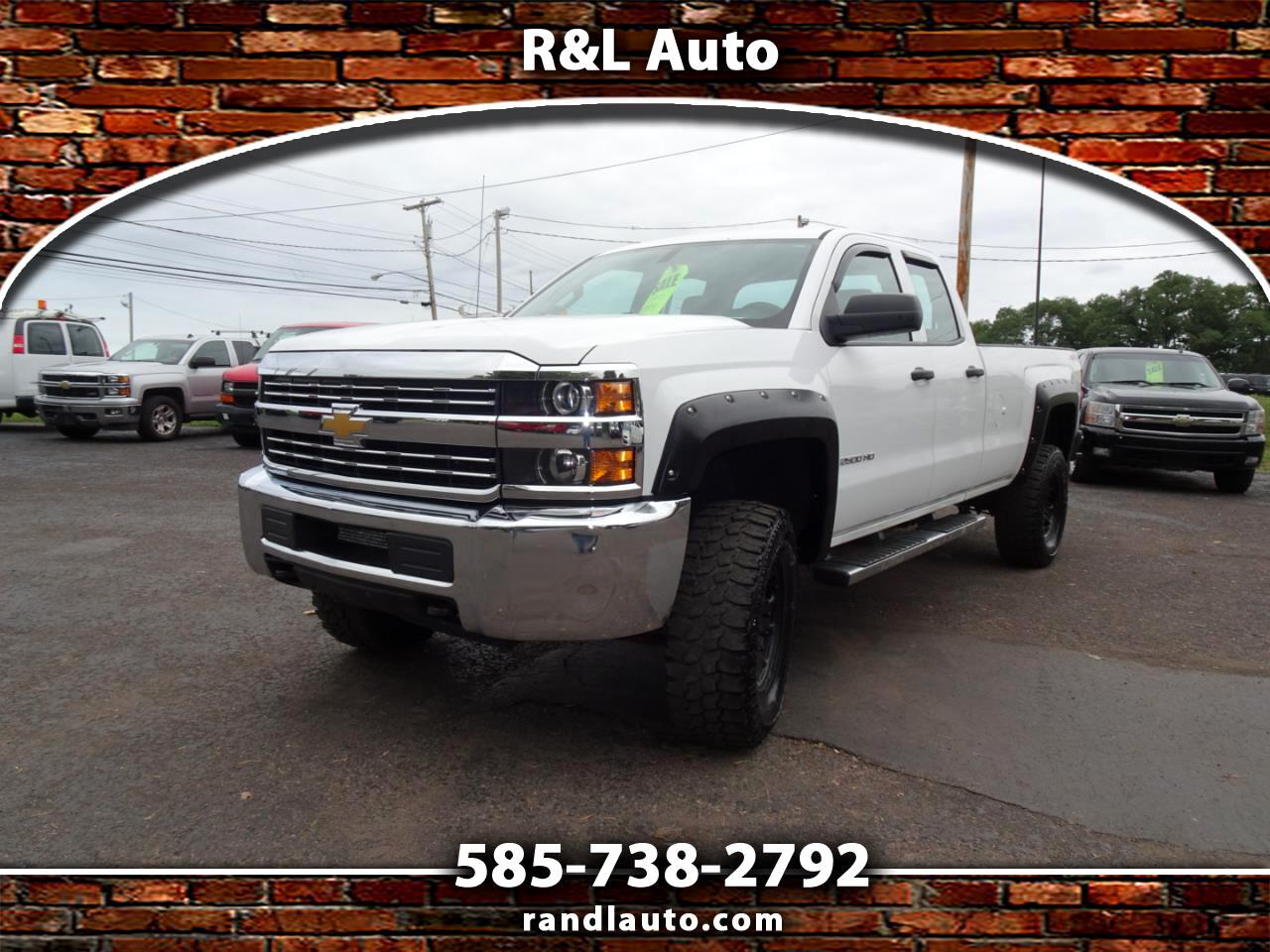 Chevrolet Silverado 2500HD Work Truck Double Cab Long Box 4WD 2015