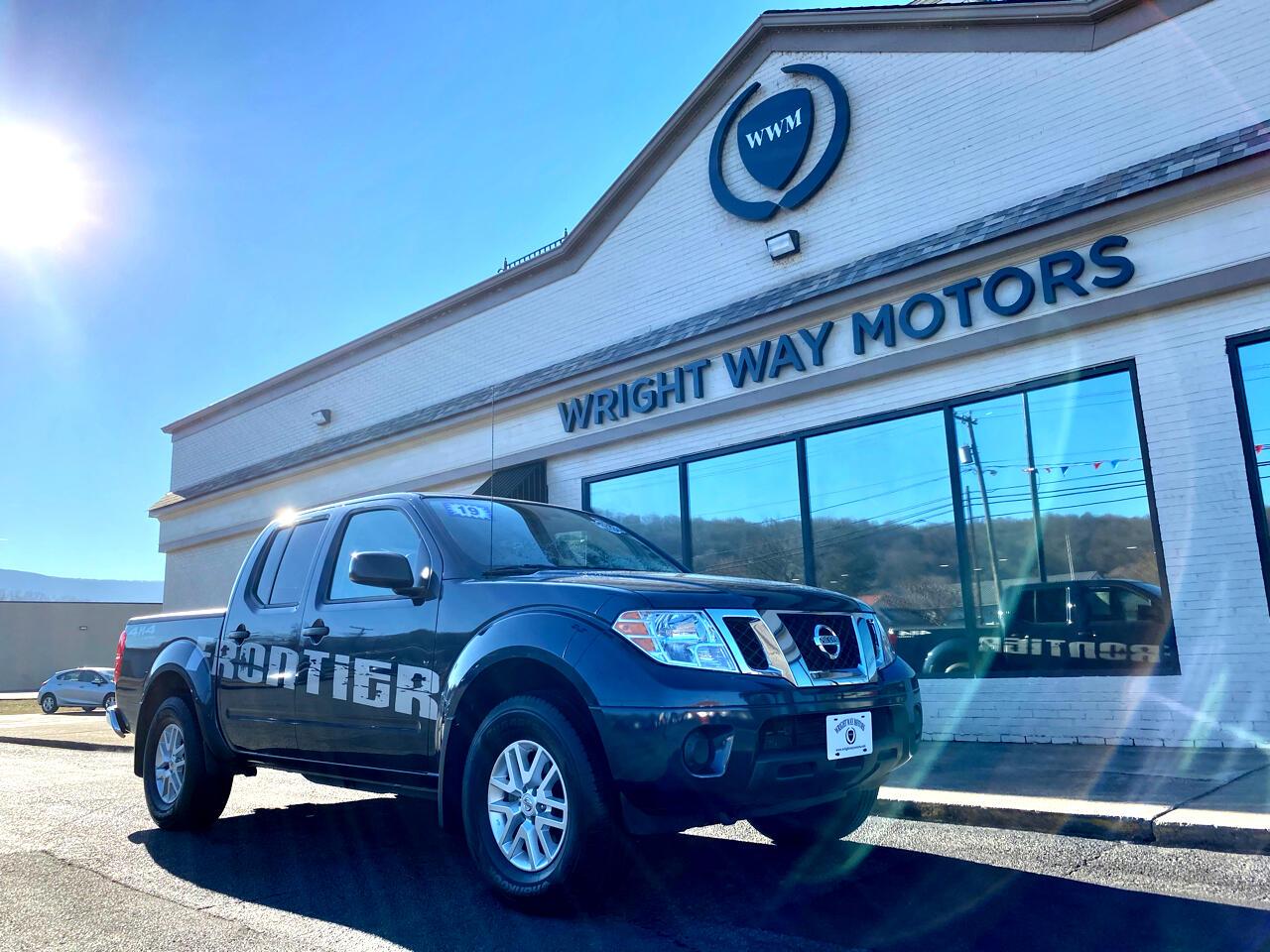 Nissan Frontier 4WD Crew Cab SWB Auto SV 2019