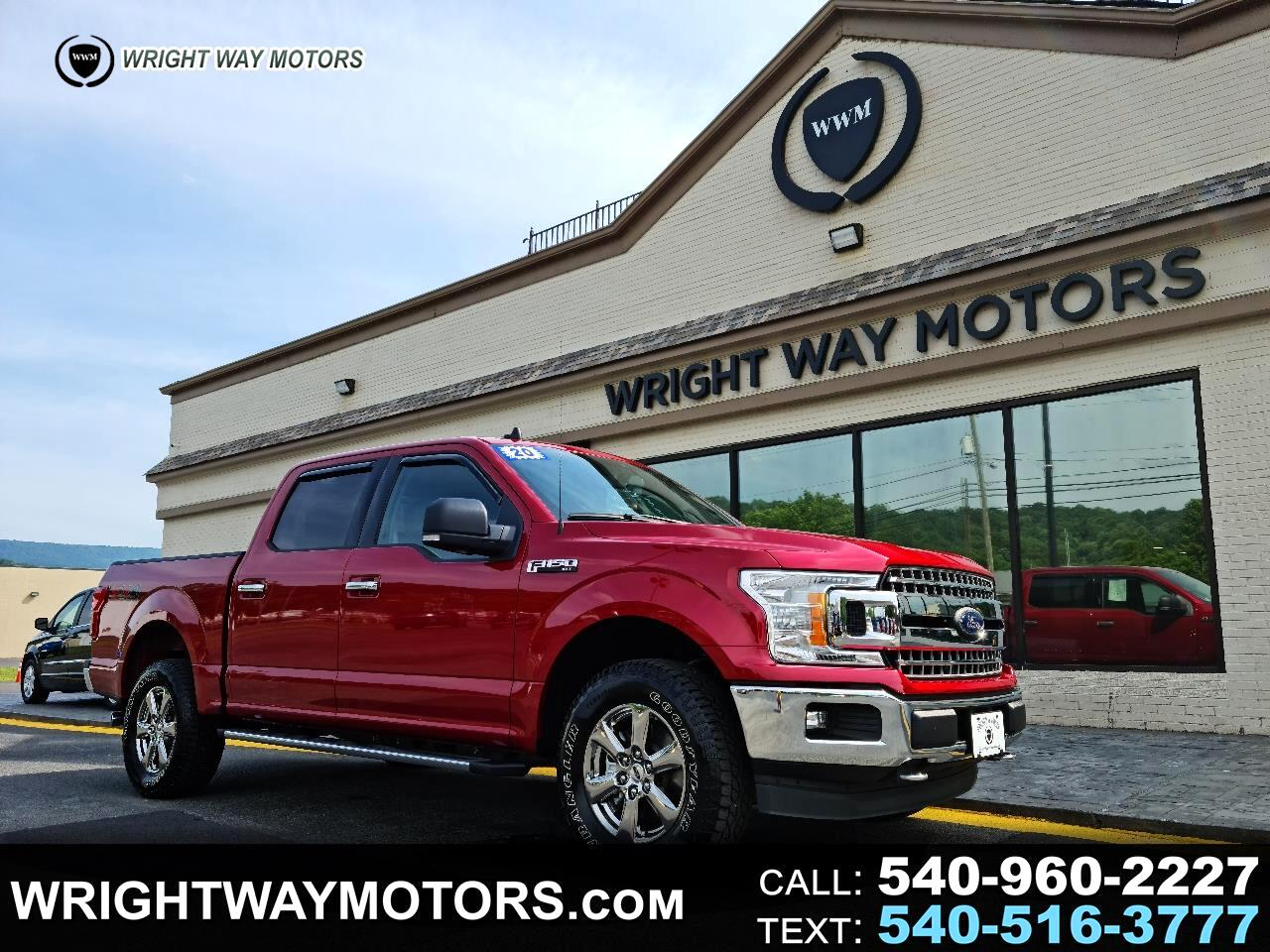 """Ford F-150 4WD SuperCrew 139"""" FX4 2020"""