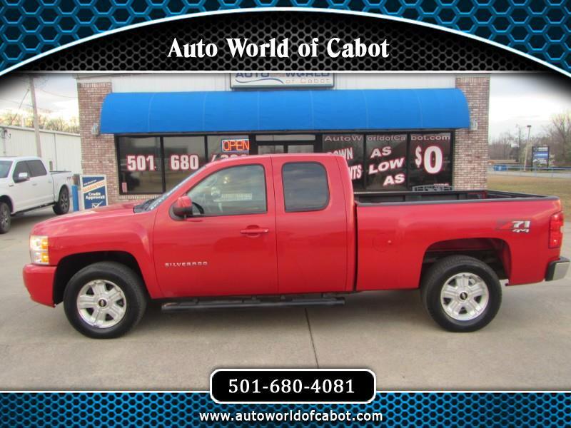 Chevrolet Silverado 1500 LT Ext. Cab 4WD 2012