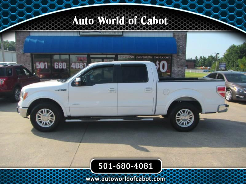 Ford F-150 Lariat SuperCrew 5.5-ft. Bed 2WD 2012