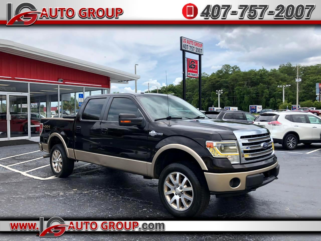 Ford F-150 King Ranch 4WD SuperCrew 5.5' Box 2013