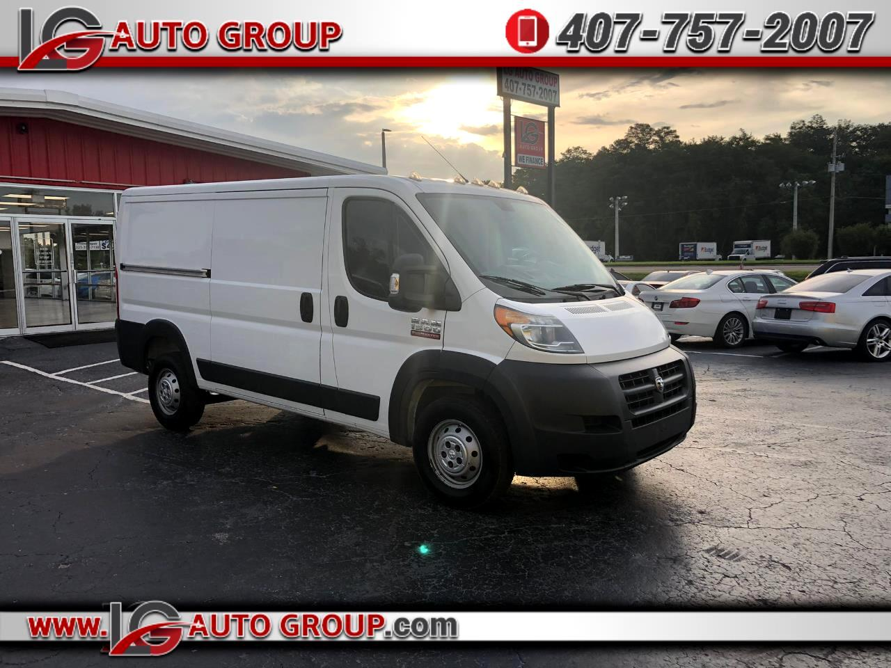 RAM Promaster 1500 High Roof Tradesman 136-in. WB 2014