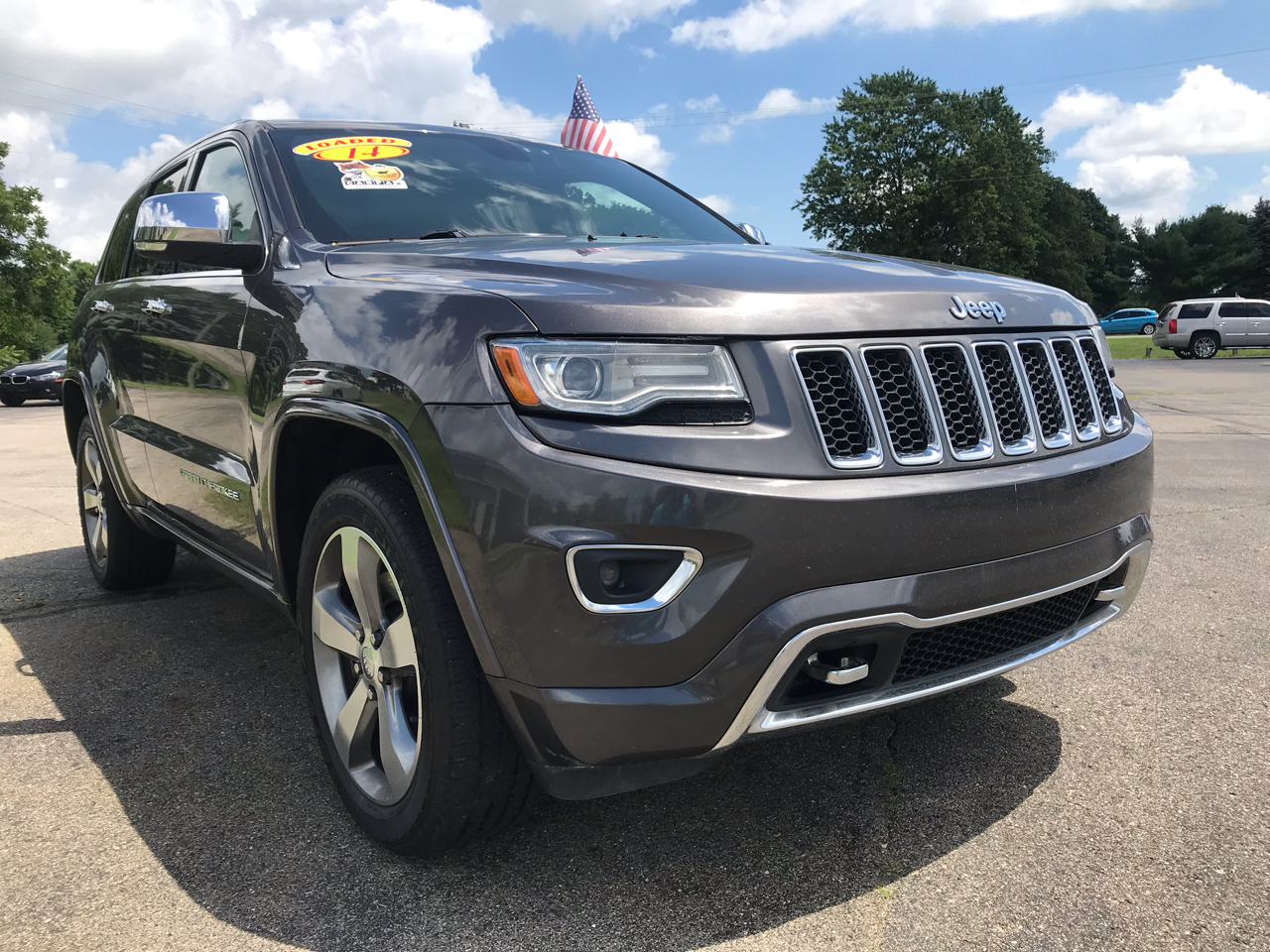 Jeep Grand Cherokee 4WD 4dr Overland 2014